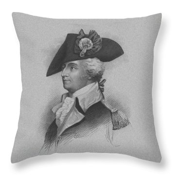 General Anthony Wayne Throw Pillow