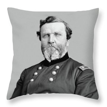 General George Thomas Throw Pillow by War Is Hell Store