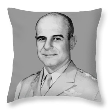 General James Doolittle Throw Pillow by War Is Hell Store