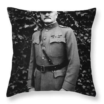 General John J. Pershing Throw Pillow