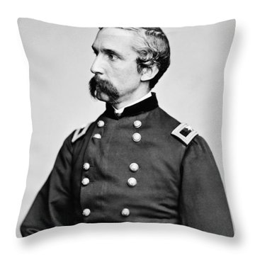 General Joshua Chamberlain  Throw Pillow
