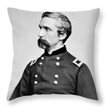 General Joshua Chamberlain  Throw Pillow by War Is Hell Store