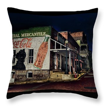 General Mercantile Throw Pillow