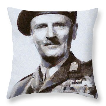 General Montgomery Throw Pillow