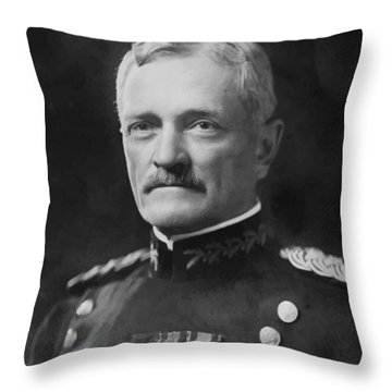 General Pershing Throw Pillow by War Is Hell Store