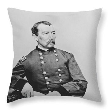 General Phil Sheridan Throw Pillow