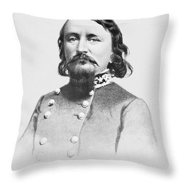 General Pickett - Csa Throw Pillow