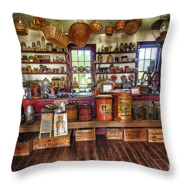 General Store Alive Throw Pillow