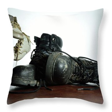 Throw Pillow featuring the photograph Generations by Mark Fuller