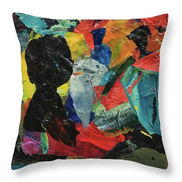Generations Throw Pillow by Mary Sullivan