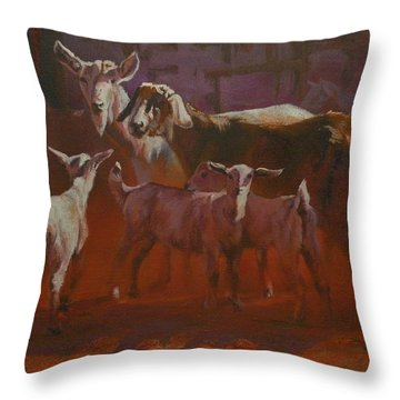 Generations Throw Pillow by Mia DeLode