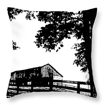 Generations Throw Pillow by Misha Bean
