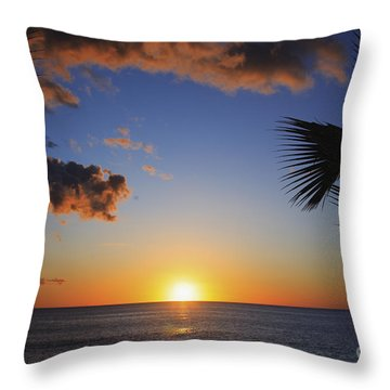 Generic Sunset Throw Pillow by Brandon Tabiolo - Printscapes