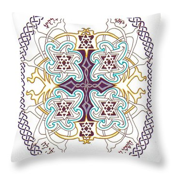 Genesis 1 14 Throw Pillow