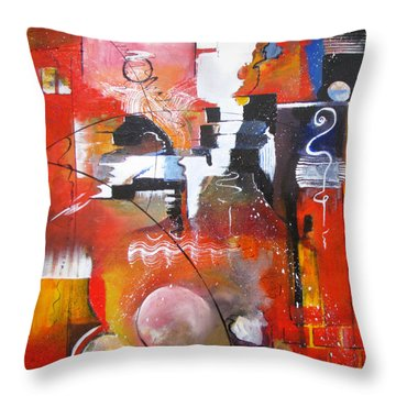 Genesis 1 Vs. 1 In The Beginning Throw Pillow