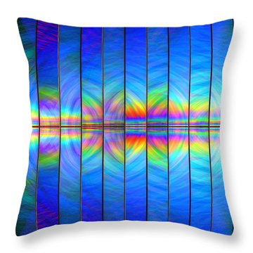 Genesis Throw Pillow by Andreas Thust