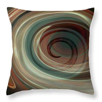 Genesis Triptychon Throw Pillow