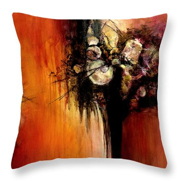 Genesis - Love At First Sight #2 Throw Pillow by Jim Whalen