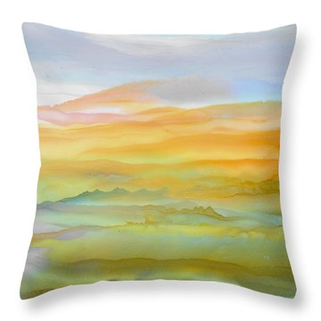 Gentle Ambiance Throw Pillow