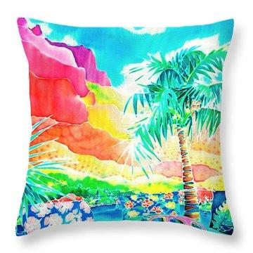 Gentle Breeze Throw Pillow