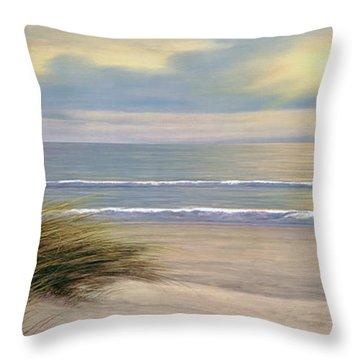 Gentle Breeze Panoramic Throw Pillow