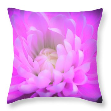 Gentle Heart Throw Pillow
