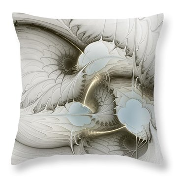 Gentle Hints Throw Pillow