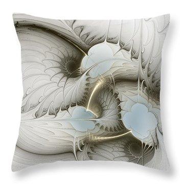 Gentle Hints Throw Pillow