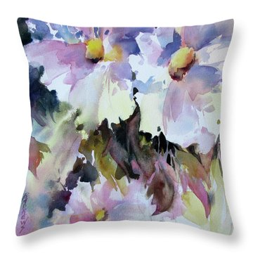 Gentle Persuasion Throw Pillow