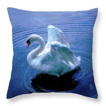 Gentle Strength Throw Pillow