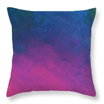 Gentle Wind Throw Pillow