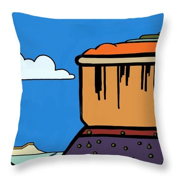 Gently Weeping Throw Pillow
