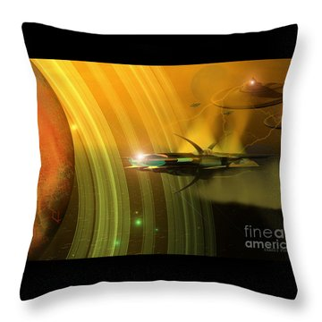 Genx 12 Throw Pillow by Corey Ford
