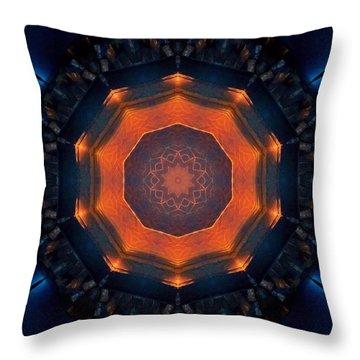Geo 9 Throw Pillow