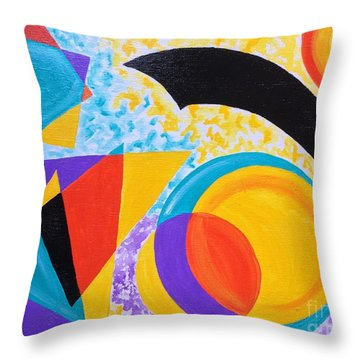 Geo Me Throw Pillow
