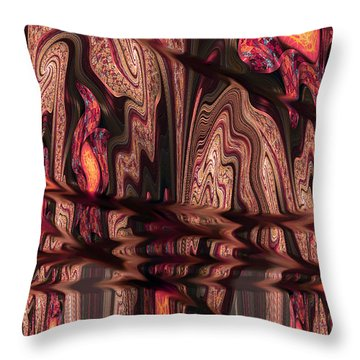 Geodes Throw Pillow