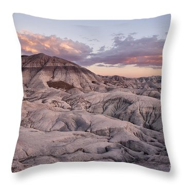 Throw Pillow featuring the photograph Geology Lesson by Melany Sarafis