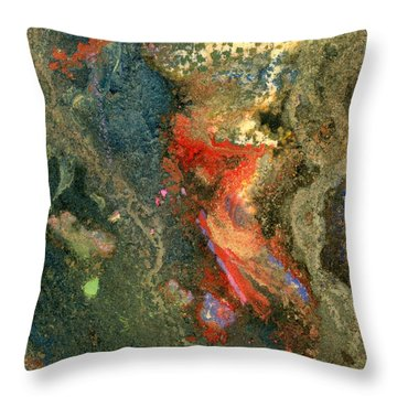 Geology-volcanic Throw Pillow