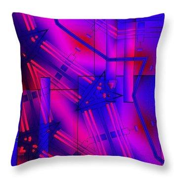 Geometric 2 Throw Pillow