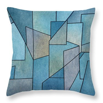 Geometric Abstraction IIi Throw Pillow
