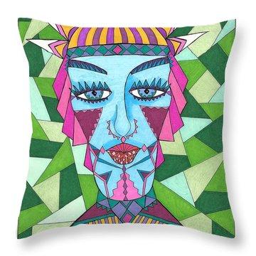 Geometric King Throw Pillow