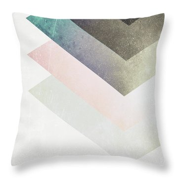 Geometric Layers Throw Pillow