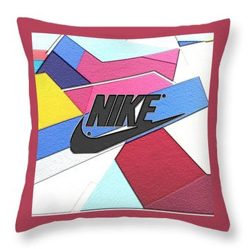 Just Do It Throw Pillows