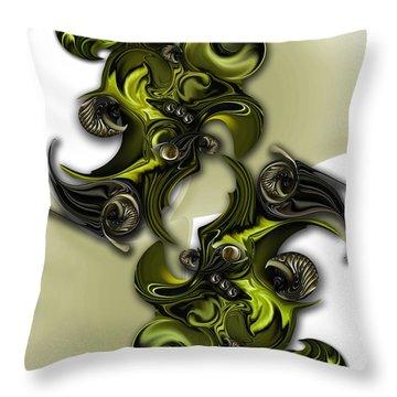 Geometric Pole Throw Pillow