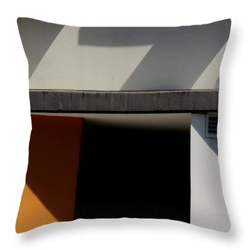 Geometric Shadows Throw Pillow