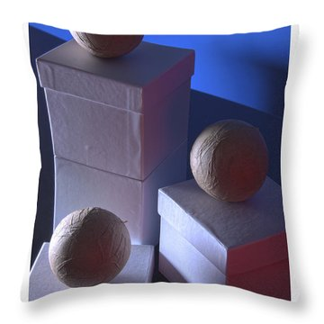 Geometric Triad Throw Pillow