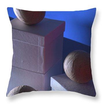Geometric Triad Throw Pillow