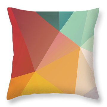 Geometric Xxix Throw Pillow