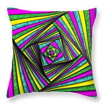Geometry Art Throw Pillow