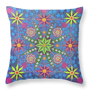 Geometry Of An Arkana Throw Pillow